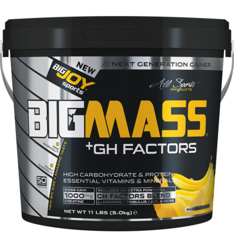 Bigjoy BigMass +Gh Factors Muz