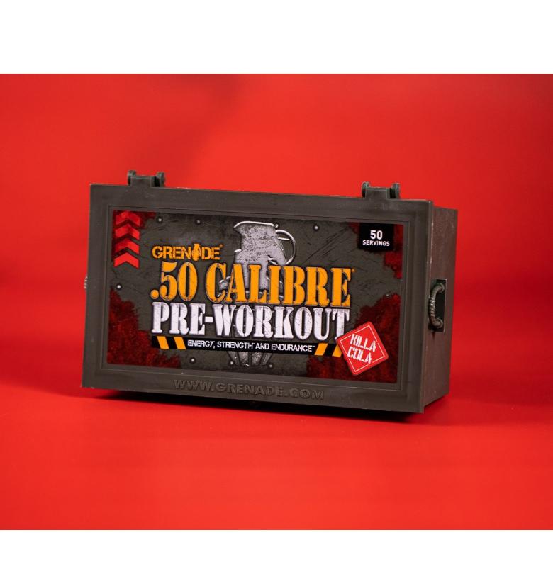 Grenade 50 Calibre Pre-Workout Killa Kola