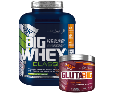 Bigjoy BigWhey Classic Whey Protein 2288 gram + GlutaBig Powder Aromasız 120 gram