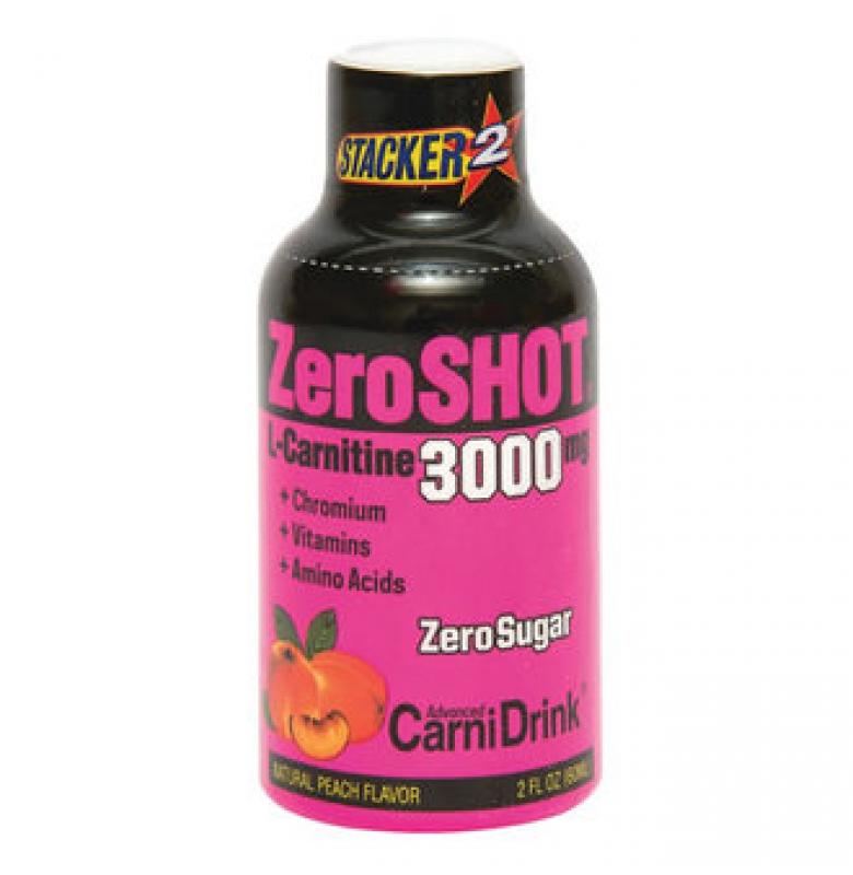 ZeroShot L-Carnitine 3000 mg. Şeftali