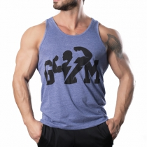 Gym Tank Top Atlet Mavi - Large