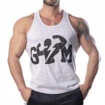 Gym Tank Top Atlet Gri - Large