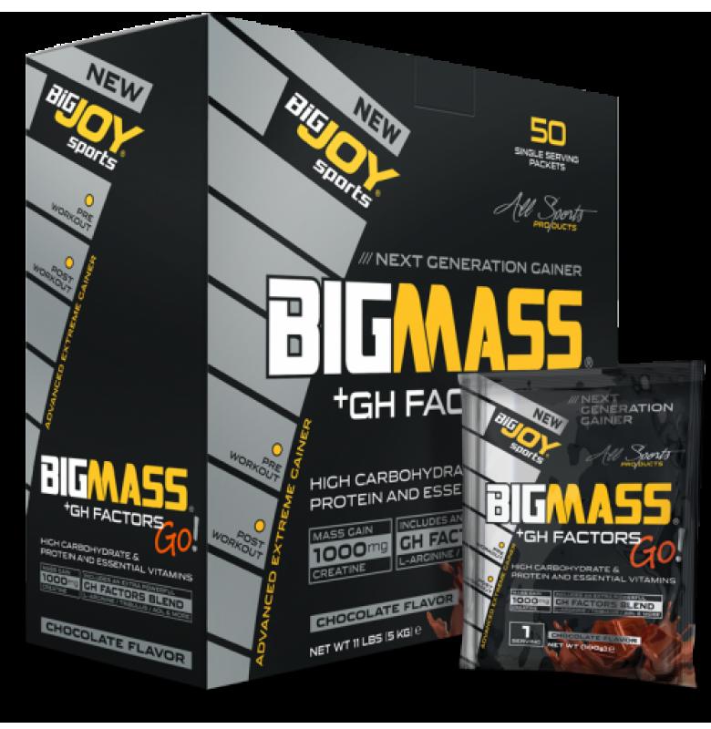 Bigjoy BigMass Go! +Gh Factors Çikolata