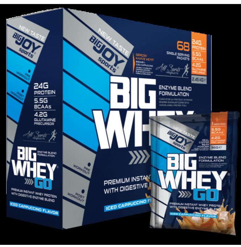 Bigjoy BigWhey Go! Protein Kapuçino