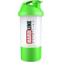 Hardline Hazneli Shaker Yeşil 600 ml.