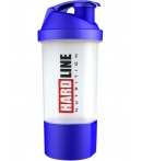 Hardline Hazneli Shaker Lacivert 600 ml.