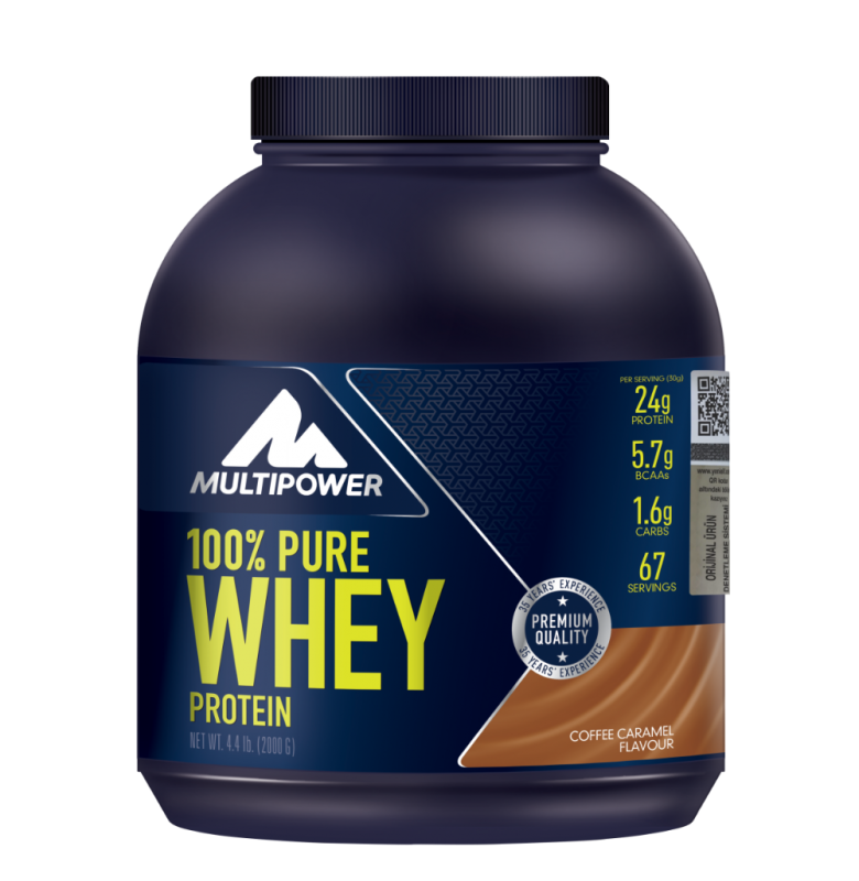 Multipower Pure Whey Protein Kahve Karamel