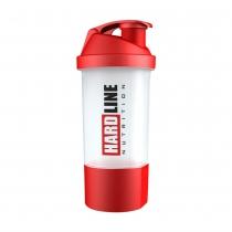 Hardline Hazneli Shaker Kırmızı 600 ml.