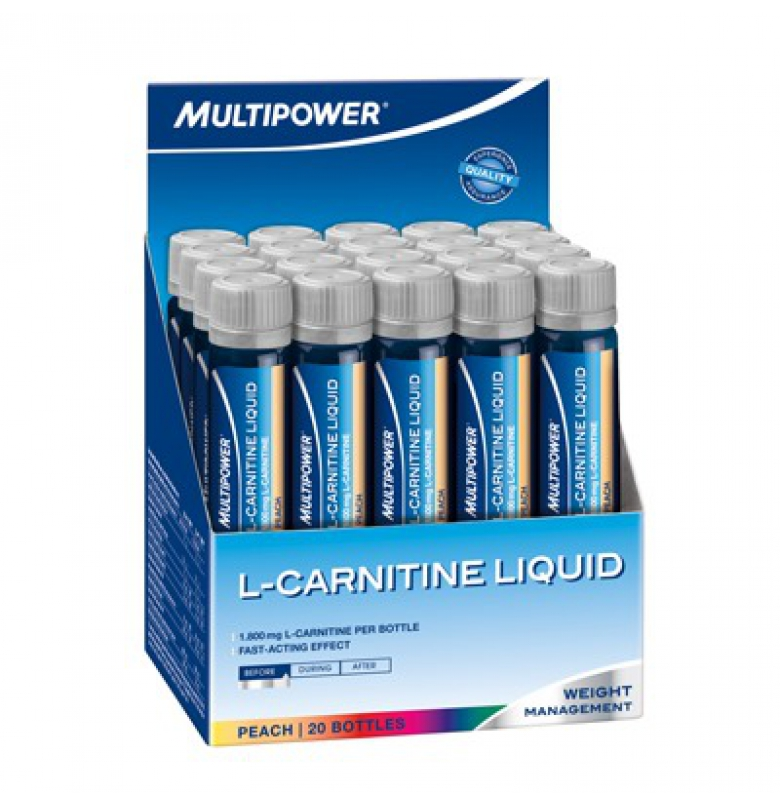 Multipower L-Carnitine 1800 Mg Şeftali